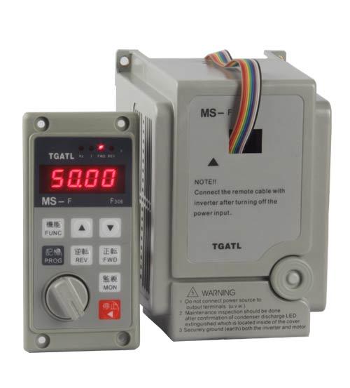 MS4-F300外接面板380V变频器